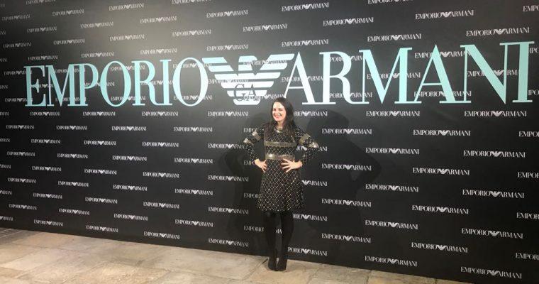 London Fashion Week: Emporio Armani S/S18