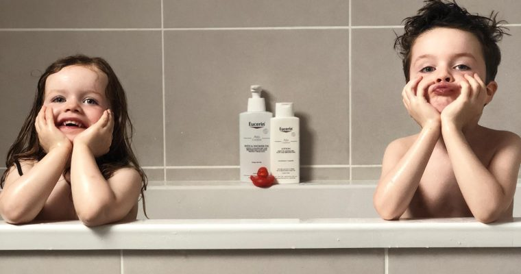 SHOWER TIME SKIN SOLUTIONS WITH EUCERIN